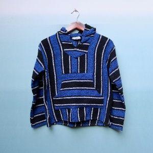 Vintage Sunspecs Mens Baja Hoodie Woven Jacket S